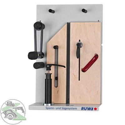 Ruwi Spannsystem Sägesystem Set 1 Standard Sicherheitssystem für Formatkreissäge – Bild 1