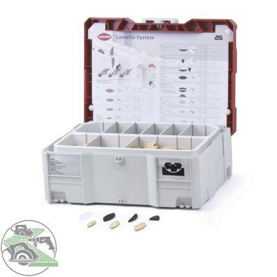 Lamello 4 mm Verbindersortiment Lamellen Sonderartikel im Systainer T-Loc II