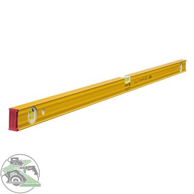 Stabila Wasserwaage Type 80 AS-2 120 cm Aluminium gelb ± 0,50 mm/m 19173 – Bild 1