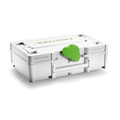 Festool Systainer³ SYS3 XXS 33 GRY grau koppelbar 66 x 105 x 31 mm 205398 – Bild 2