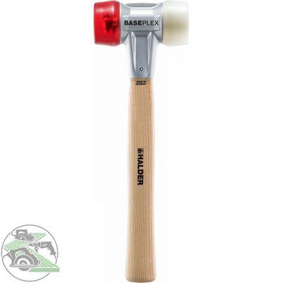 Halder BASEPLEX Schonhammer Hammer 40 D. 325 mm 510 g Holzstiel 3968.040