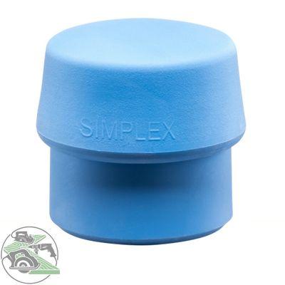 Halder Schlageinsatz für SIMPLEX Schonhammer Ø 40 mm TPE-soft blau 3201.040