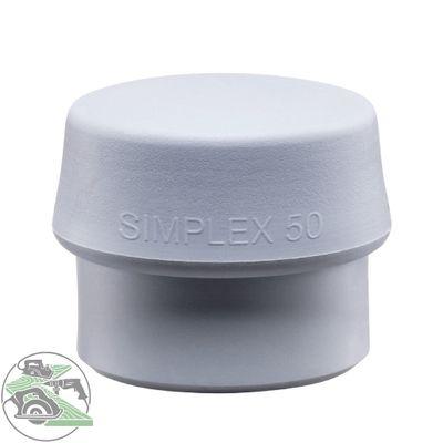 Halder Schlageinsatz für SIMPLEX Schonhammer Ø 50 mm TPE-mid grau 3203.050