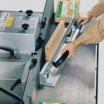 Aigner Spannlade zum Einsetzfräsen kurzer Werkstücke für Tischfräse 214283000192 – Bild 4