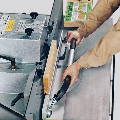Aigner Spannlade zum Einsetzfräsen kurzer Werkstücke für Tischfräse 214283000192 – Bild 5