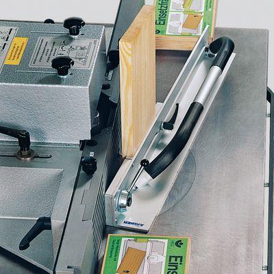 Aigner Spannlade zum Einsetzfräsen kurzer Werkstücke für Tischfräse 214283000192 – Bild 7