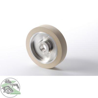Roma Vorschubrolle Gummi 117 x 27 x 20 mm weiss für Vorschubapparat Roma 110 – Bild 1
