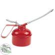 HM Müllner Ölkanne 0,5 l, flexibler Schlauch Messingdruckpumpe rot AF152-500 001