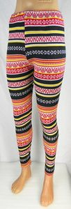 Damen Leggings Norweger Style Leggins Hose Norwegen Jeggings Rentier NEU T04 – Bild 11