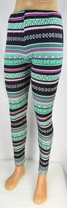 Damen Leggings Norweger Style Leggins Hose Norwegen Jeggings Rentier NEU T04 – Bild 12