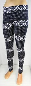 Damen Leggings Norweger Style Leggins Hose Norwegen Jeggings Rentier NEU T04 – Bild 20