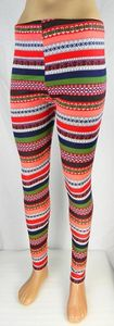 Damen Leggings Norweger Style Leggins Hose Norwegen Jeggings Rentier NEU T04 – Bild 22