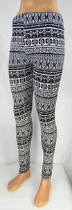 Damen Leggings Norweger Style Leggins Hose Norwegen Jeggings Rentier NEU T04 – Bild 2