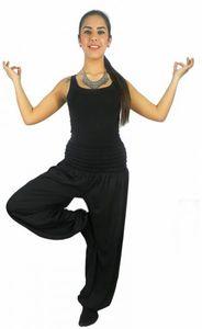 Damen Harems-Hose Pluderhose lang Pump Aladin Balon Harem Hose S M L XL XXL p1 – Bild 4