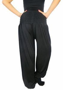 Damen Harems-Hose Pluderhose lang Pump Aladin Balon Harem Hose S M L XL XXL p1 – Bild 3