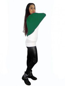 Damen Bolero Fledermaus Japan Style Strick Jacke Jäckchen Langarm Pullover bol08 – Bild 11