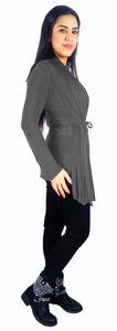 Damen Bolero Fledermaus Japan Style Strick Jacke Jäckchen Langarm Pullover bol07 – Bild 3