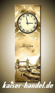 Leinwandbilder Wanduhr Designer Wandbild Leinwanduhr Bild Uhren Küche London 2