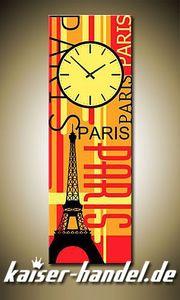 Leinwandbilder Wanduhr Designer Wandbild Leinwand Bild Uhr Restaurant Paris 4