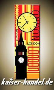 Leinwandbilder Wanduhr Designer Wandbild Leinwand Bild Uhr Küche Büro London 3