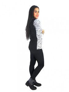 Damen Kardigan Jacke Pullover Netzhemd Cardigan Blazer Bolero Strickjacke j05 – Bild 6