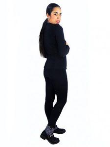 Damen Bolero Oberteil Blazer Jacke Schulterjacke Jäckchen Cardigan Elegant j10 – Bild 5