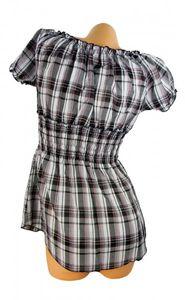 Bayrische Damen Trachtenbluse Hemd Dirndl Oberteil Kurzarm Trachtenmode TH6 – Bild 3