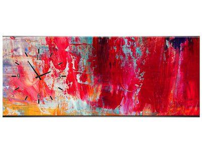 Leinwandbilder Wanduhr Wandbild Leinwand Bild XXL Küche Uhr 100x40 cm – Bild 13