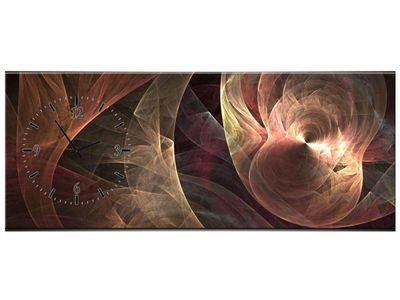 Leinwandbilder Wanduhr Wandbild Leinwand Bild XXL Küche Uhr 100x40 cm – Bild 18