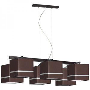 Designer Decken Pendel Leuchte Lampe Retro Deckenleuchte Hotel Büro E27 Power LED Cascada 9
