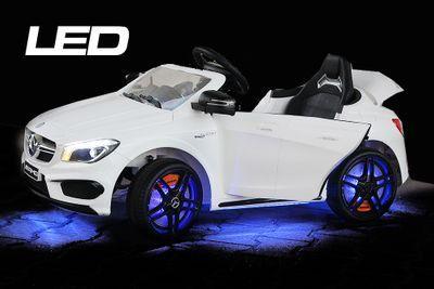 MERCEDES BENZ AMG CLA45 LED Kinder Elektro Auto 2x 25W 12V 2.4G RC – Bild 1