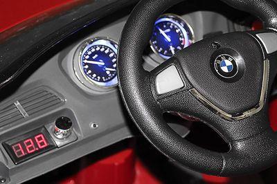 Kinder Elektro Auto BMW X6 SUV Cabrio Fahrzeug Wagen 2x 35 Watt MP3 Ferngesteuert – Bild 9