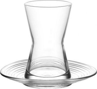12 Teilig Tee Gläser mit Untertasse DERIN von LAV 6 Teegläser + 6 Untertassen