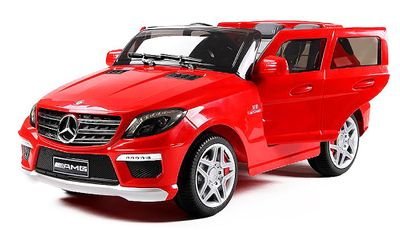 Kinder Elektro Auto AMG V8 Mercedes ML63 Luxus Edition MP3 2x 35W – Bild 2