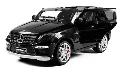 Kinder Elektro Auto AMG V8 Mercedes ML63 Luxus Edition MP3 2x 35W