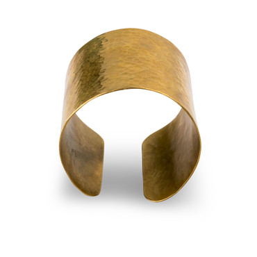 "Armreif ""Plated Cuffs"" - aus Altmessing"