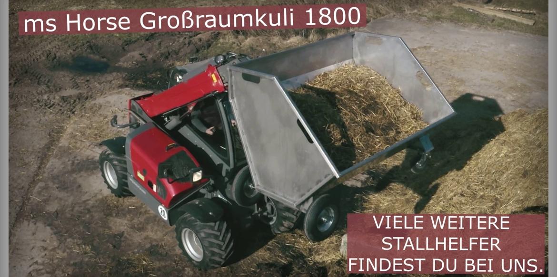 ms Horse Edelstahl Großraumkuli 1800