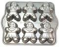 Nordic Ware Motivbackform Lebkuchen Kinder 6x250ml, Napfkuchen, Gugelhupf