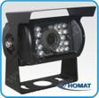 120° CCD Farbkamera mit IR Dioden - schwarzes Gehäuse