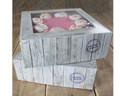FunCakes Cake Box -Pure- 26x26x12cm, 2er Set Kuchenschachtel, Tortenkarton