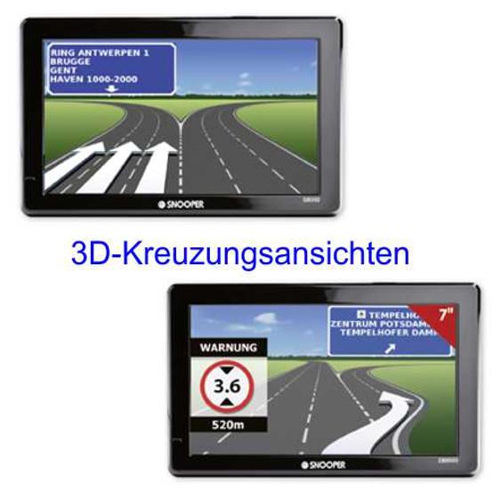 Navigationssystem Snooper S8100 Pro Ventura für Reisemobile