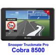 LKW Navigationssystem Cobra Truckmate C8500 mit Reifendruckwarnsystemanschluss