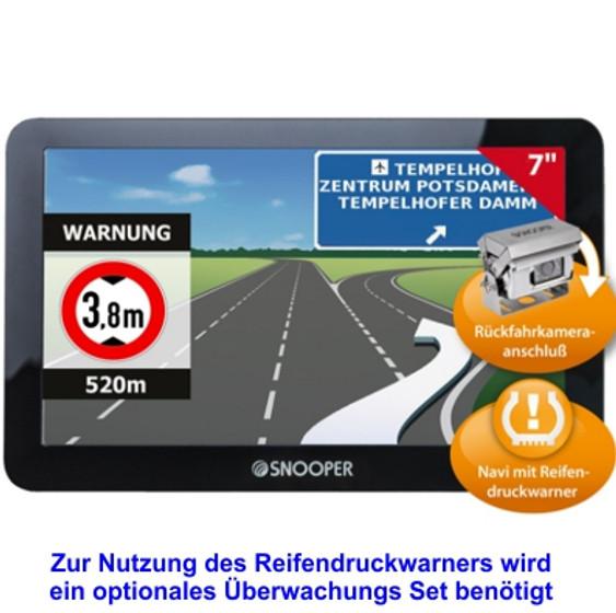 Navigationssystem Snooper S6800 Pro Ventura für Reisemobile