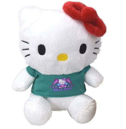 Hello Kitty Plüschfigur Plüsch Kuscheltier Stofftier Teddy Puppe 17cm – Bild 2