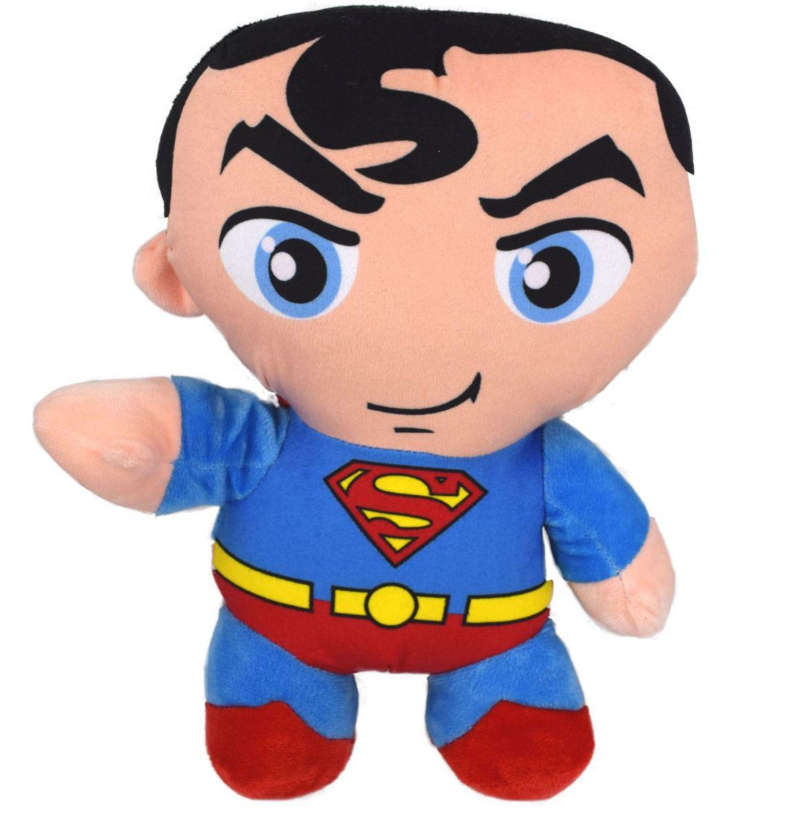 superman pl schfigur pl sch kuscheltier puppe stofftier teddy 31cm. Black Bedroom Furniture Sets. Home Design Ideas