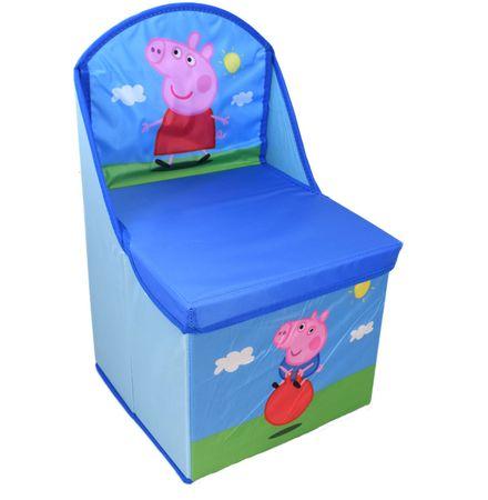 Peppa Pig Sitzhocker Stuhl Klappstuhl Kinderstuhl Spielzeugkiste Sessel