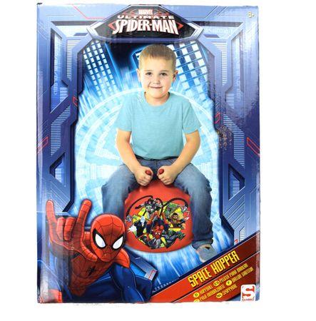 Marvel Spiderman Hüfpball Ball Space Hopper Gymnastikball mit Griffe