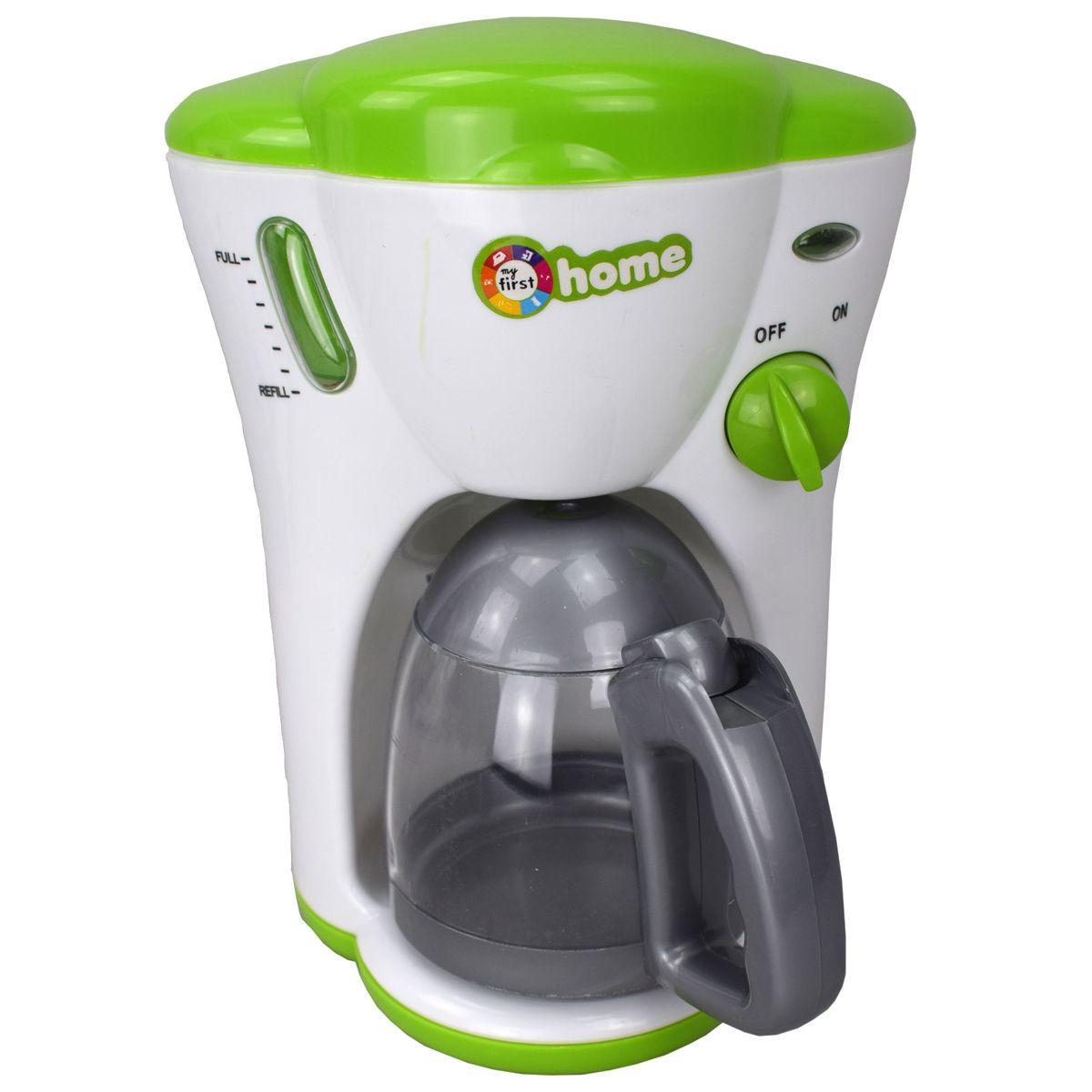 kaffeemaschine mit licht für kinder spiel küche kochen