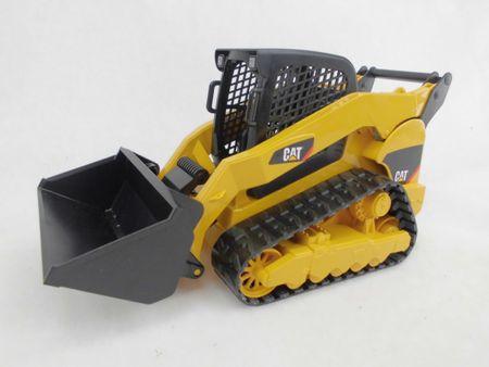 Bruder 02136 Mini CAT Bagger Delta Lader Minibagger 1:16 – Bild 1