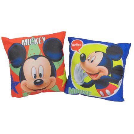 Mickey Mouse Expressions Kissen Kuschelkissen Dekokissen Sofakissen 40 x 40 cm
